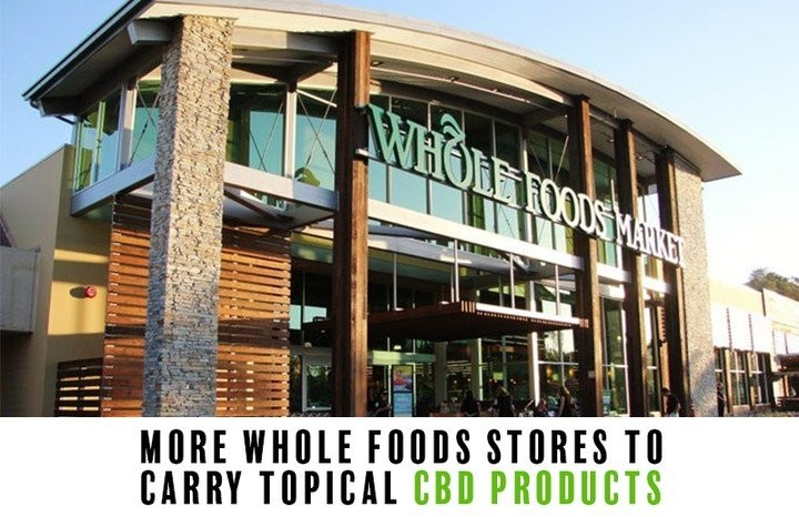 Whole Foods élargit la distribution de produits CBD
